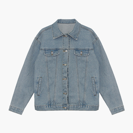caramel denim jacket