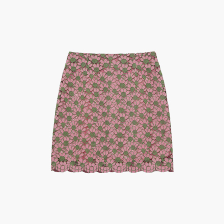 polly flower skirt