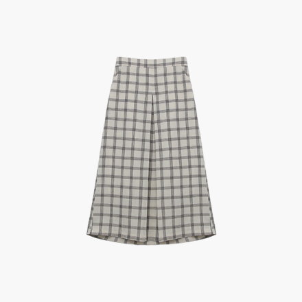 charlie check skirt