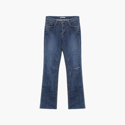 span cutting jeans