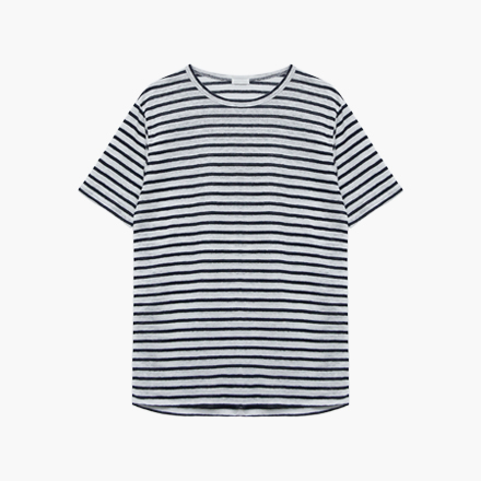 linen stripe T-shirts