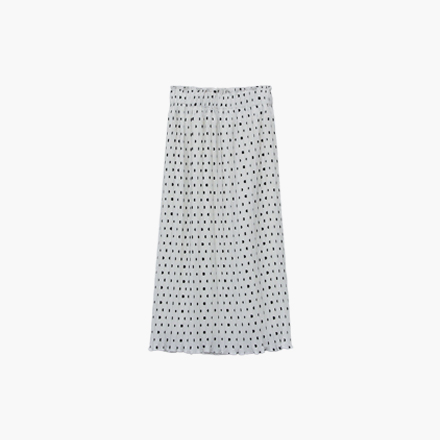 horizon dot skirt