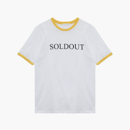 sold out T-shirts